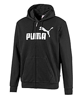 Puma Essential Metallic Full Zip Hoodie