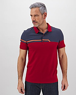 Lyle and Scott Sports Block Polo