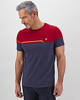 Lyle and Scott Sports Block T-Shirt