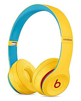 Beats Solo3 Wireless Headphones, Beats Club Collection - Club Yellow