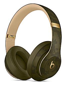 Beats Studio3 Wireless Headphones, Beast Camo Collection - Forest Green