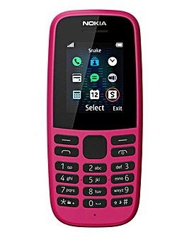 Nokia 105 Pink