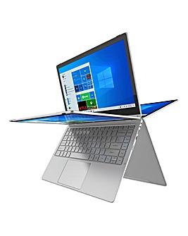 GeoFlex 230 13.3-inch Convertible Laptop Intel Pentium 4GB RAM 128GB Storage