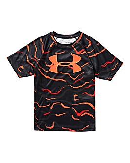 Under Armour Boys Tech Printed T-Shirt