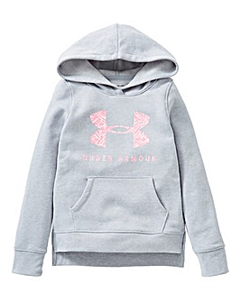 Under Armour Girls Rival Logo Hoodie