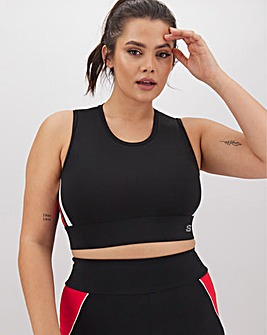 Skechers Mesh Back Crop Top