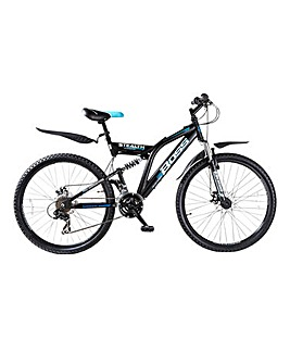 "Boss 26"" Mens Stealth FS Mountain Bike"