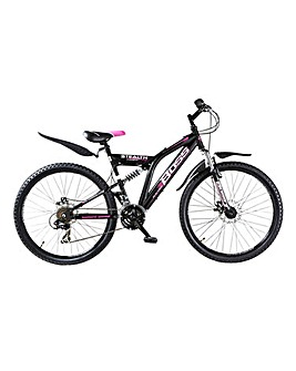 "Boss 26"" Womans Stealth FS Mountain Bike"