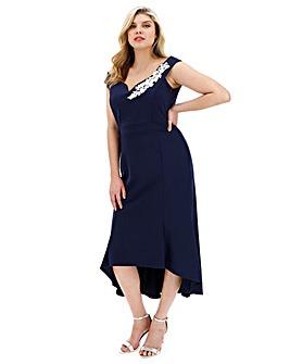 Quiz Dip Hem Dress