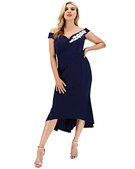 Quiz Dip Hem Dress