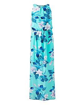 Quiz Tropical Floral Maxi Dres