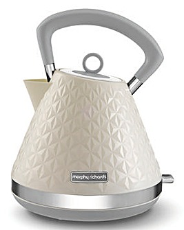 Morphy Richards 108132 Vector Pyramid Cream Kettle