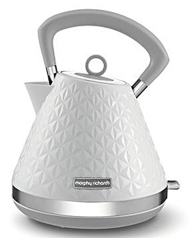 Morphy Richards 108134 Vector Pyramid White Kettle