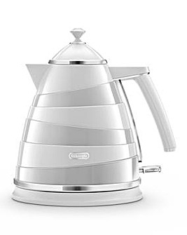 Delonghi Avvolta White Kettle