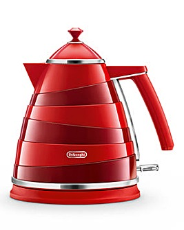 DeLonghi Avvolta Red Kettle