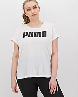 Puma Ladies Active Logo T-Shirt