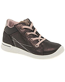 Ecco Wafer Lace Girls First Boots