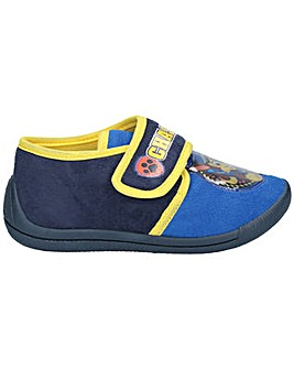 Paw Patrol Chase Touch Fastening Slipper