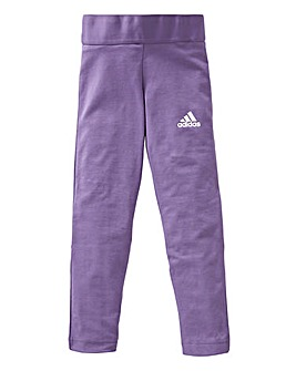 adidas Girls 3 Stripe Tight