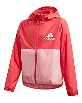 adidas Girls Windbreaker Jacket