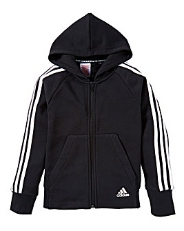 adidas Younger Girls Full Zip Hoodie