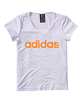 adidas Girls Linear T-Shirt