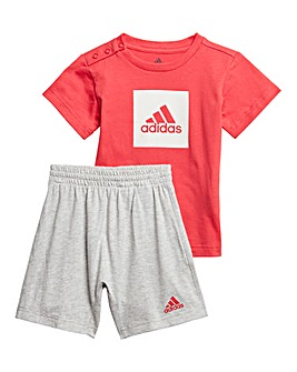 adidas Infant Logo Summer Set