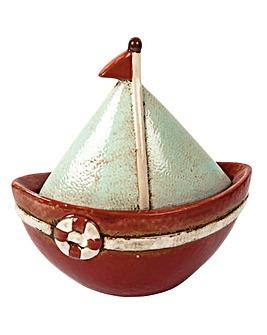 Ceramic Boat and Sail Bowl