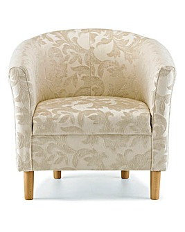 Chenille Tub Chair