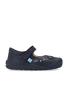 Start-Rite Flex Navy Leather