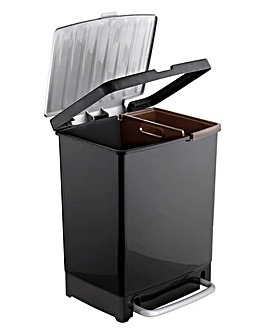 2 Compartment Recycling Bin