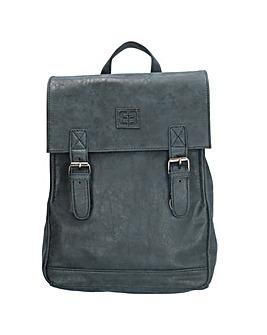Enrico Benetti Ardeche Zip Split Handle Backpack