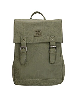 Enrico Benetti Ardeche Zip Split Handle Backpack