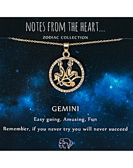 Zodiac Sign Pendant