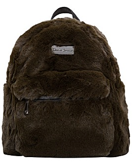 Claudia Canova Anii Xs Faux Fur Backpack
