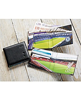 Leather Football Wallet
