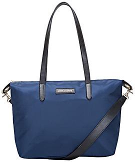 Smith & Canova Nylon Zip Top Tote Bag