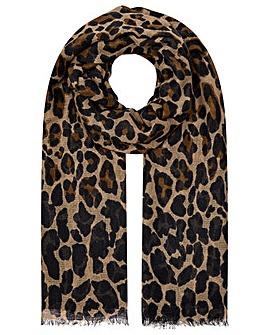 Accessorize Retro Leopard Stole