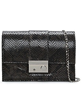 Daniel Ahand Leather Reptile Shoulder