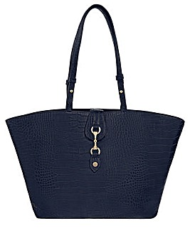 Monsoon Cora Croc Shopper