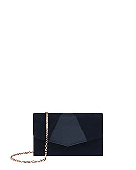 Monsoon Petra Patched Flap Clutch