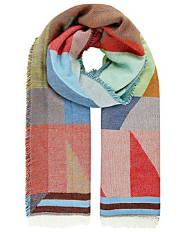 Monsoon Miley Multi Shape Scarf