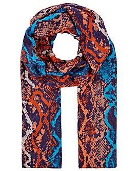 Monsoon Sara Snake Print Scarf
