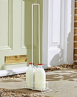 Long Handled Milk Bottle Holder