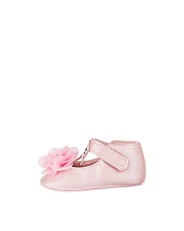 Monsoon Felicity Flamingo Pink Bootie