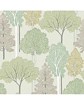 Ellwood Green Wallpaper
