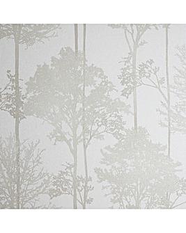 Stardust Tree Neutral Wallpaper