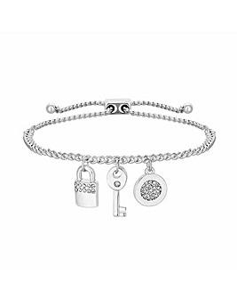 Jon Richard Swarovski Charm Bracelet