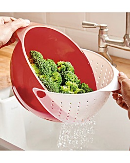 2 in 1 Strainer Bowl
