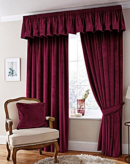 Thermal Velour Curtain